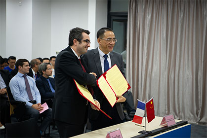The Forsee Power Group joins the DGUT-CNAM Sino-French Institute enterprise club